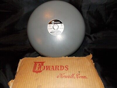 New Edwards Adaptabel 8 Single Stroke Gray Bell 562 115v 60 Cycles