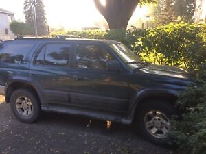 96 4runner limited for parts only/pièces seulement
