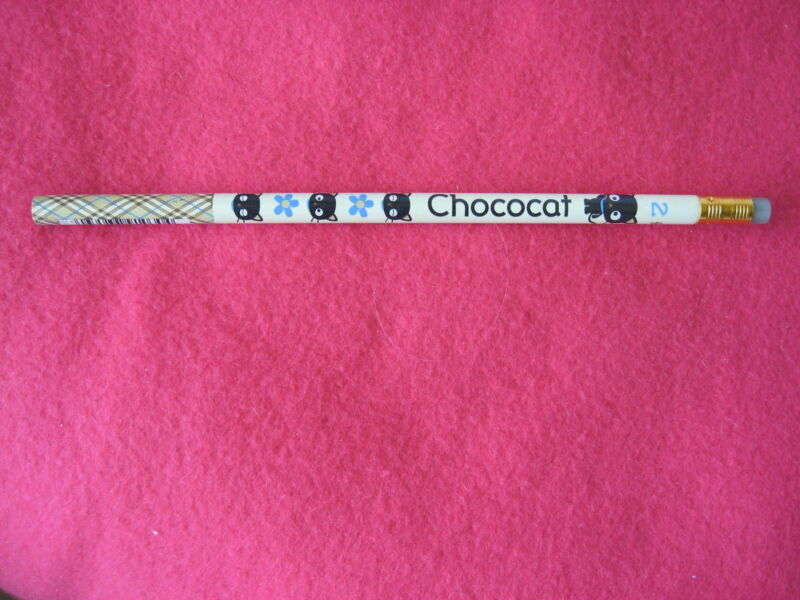 Sanrio Chococat Pencil Check CO Oval Vintage Collectible New 1996, 2000
