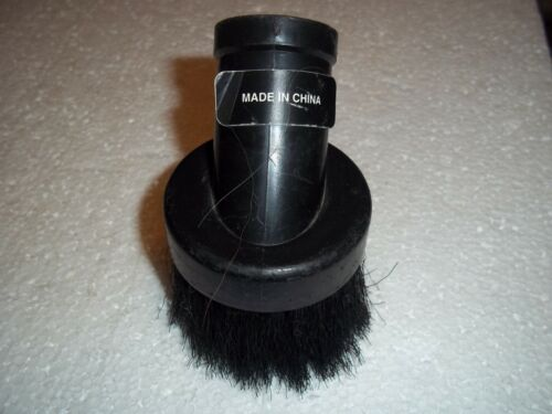 """NEW NO PACKAGING VACUUM ROUND BRUSH ATTACHMENT 1-1/4"""" I.D. HOLE 2-1/2""""D BRUSH"""