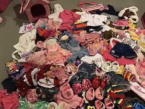 Lot of Build-a-Bear Clothes *GREAT CONDITION*