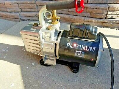 Jb Industries Platinum Vacuum Pump Dv-200n 7cfm