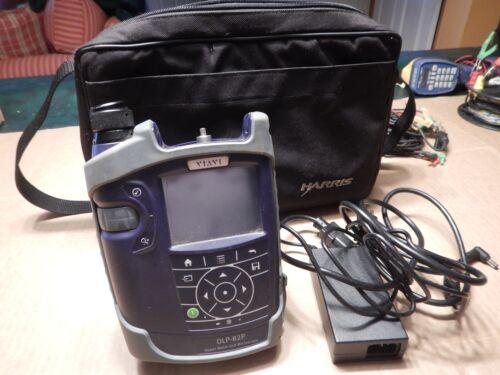 JDSU OLP-82P Fiber Optic Power Meter & Microscope w/ LION Battery