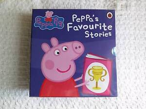 10 x Peppa Pig hard cover books - Brand new in box Rose Bay Eastern Suburbs Preview