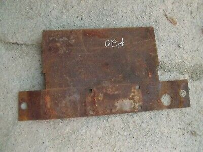 Mccormick Deering F20 Tractor Engine Motor Radiator Bottom Splash Cover Guard