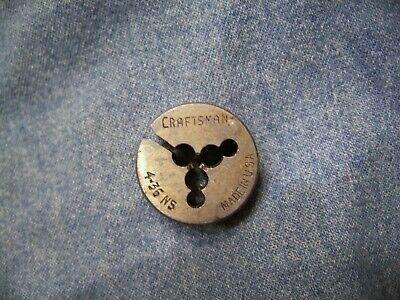 Craftsman 4 - 36  1  Diameter Die Machinist Tap