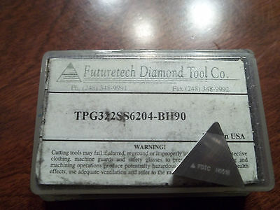 New Futuretech Tpg322ss6204 Bh90 Buy It Now2 Inserts Free Shipping