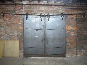 Reclaimed Durand's Antique barn style fire door Restoration Vintage