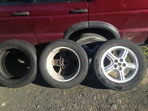 235 55 18 - 4 alloys and 6 tyres Land Rover Discovery 2 Howden Kingborough Area Preview