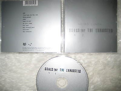 CD Naked Lunch – Songs For The Exhausted  Fehlfarben Tomte Prodigy  Franz Kafka
