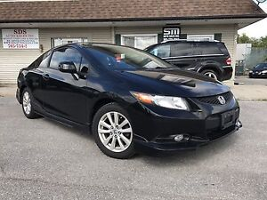 2012 HONDA CIVIC EX COUPE | FULLY LOADED | SUNROOF | BLUETOOTH