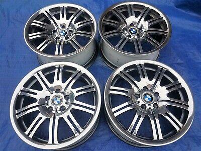 BMW E46 M3 OEM Factory 19x9.5/8 MIRROR POLISHED Double Spoke Style 67 Wheels Rim
