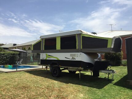 JAYCO HAWK OUTBACK AS NEW HARDLY USED Thurgoona Albury Area Preview