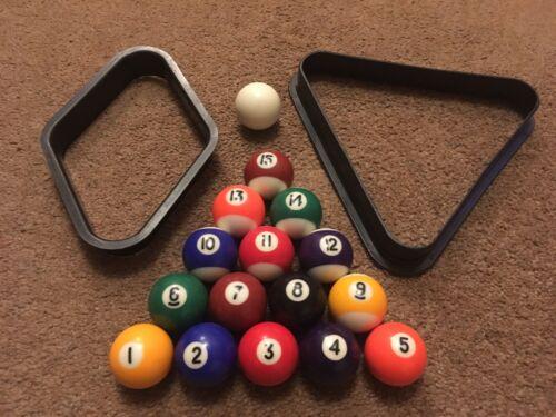 Vintage Small Pool Balls 1.5 Inch (38mm)