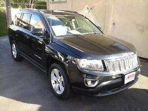 2015 JEEP COMPASS HIGH ALTITUDE- LEATHER HEATED SEATS, SATELLITE