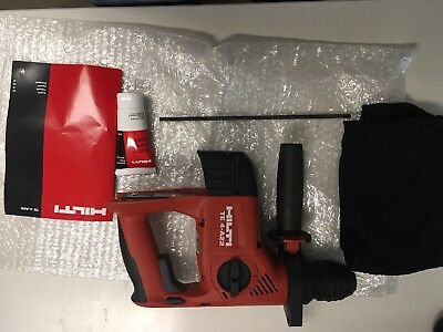 Hilti 22v Lithium Ion Sds Plus Cordless Rotary Hammer Drill Te 4-a Tool Only