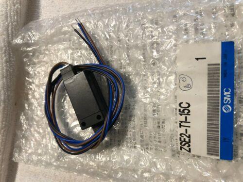 NEW SMC ZSE2-T1-15C COMPACT PRESSURE SWITCH