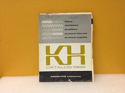 Krohn Hite 1969 Test Measurement Instrumentation Catalog