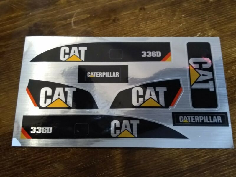 CAT Sticker Set for Huina/Tongli  Top Excavator  decals