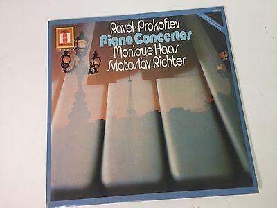 Ravel/Prokofiev - Monique Haas/Sviatoslav Richter - Piano Concertos - LP EX-/EX+