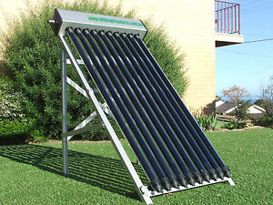 10 Tube Solar Hot Water Collector