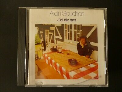 CD ALAIN SOUCHON - J'AI DIX ANS - TTB ETAT