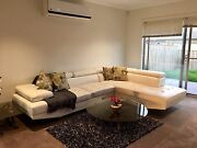 5 Seater White Leather sofa Point Cook Wyndham Area Preview