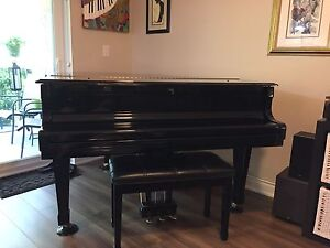 "Suzuki Baby Grand Piano 5'6"" - MINT condition"