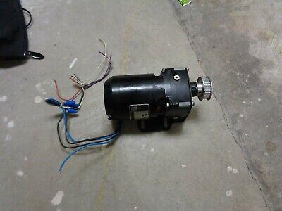 Bodine Gear Motor Nci-1303 115v 5-1 Ratio 130th Camera Motor
