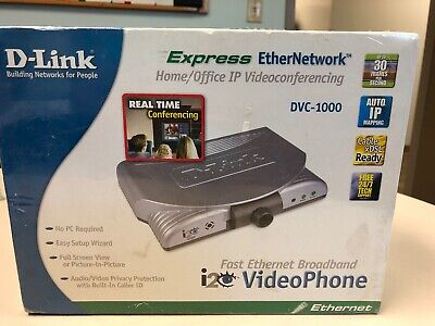 Brand New D-link Express Home And Office Ip Videoconferencing Video Phone