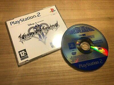 Kingdom Hearts II / 2 PROMO DISC – Square Enix RARE PS2 PlayStation 2 VGC