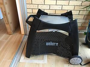 Weber q bbq cart patio trolley stand only Mosman Mosman Area Preview