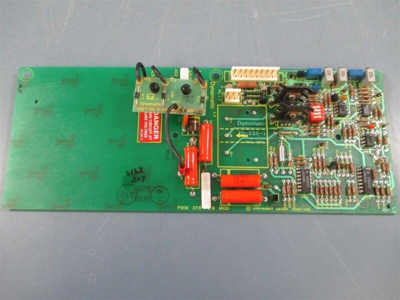 Eaton Dynamatic 15-777-5121 Rev C Feedback PCB Circuit Board - Used