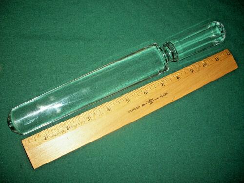 """Vintage Solid Clear Glass Desert / Cake Knife – 12"""""""