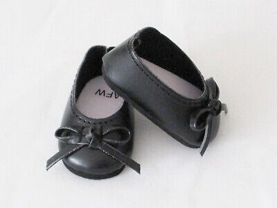 Black Ballet Flats Shoes with Bow For 14.5