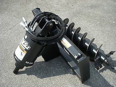 Lowe Bp-210 Hex Auger Drive With 12 Auger Bit Fits Skid Steer Loader Planetary