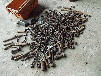 Mccormick Farmall F30 Ih Tractor Original Bolts Nuts Parts Pieces Etc...
