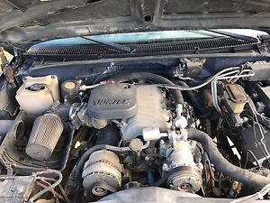 97 vortec 454 7.4L engine trans diffs ect 4x4