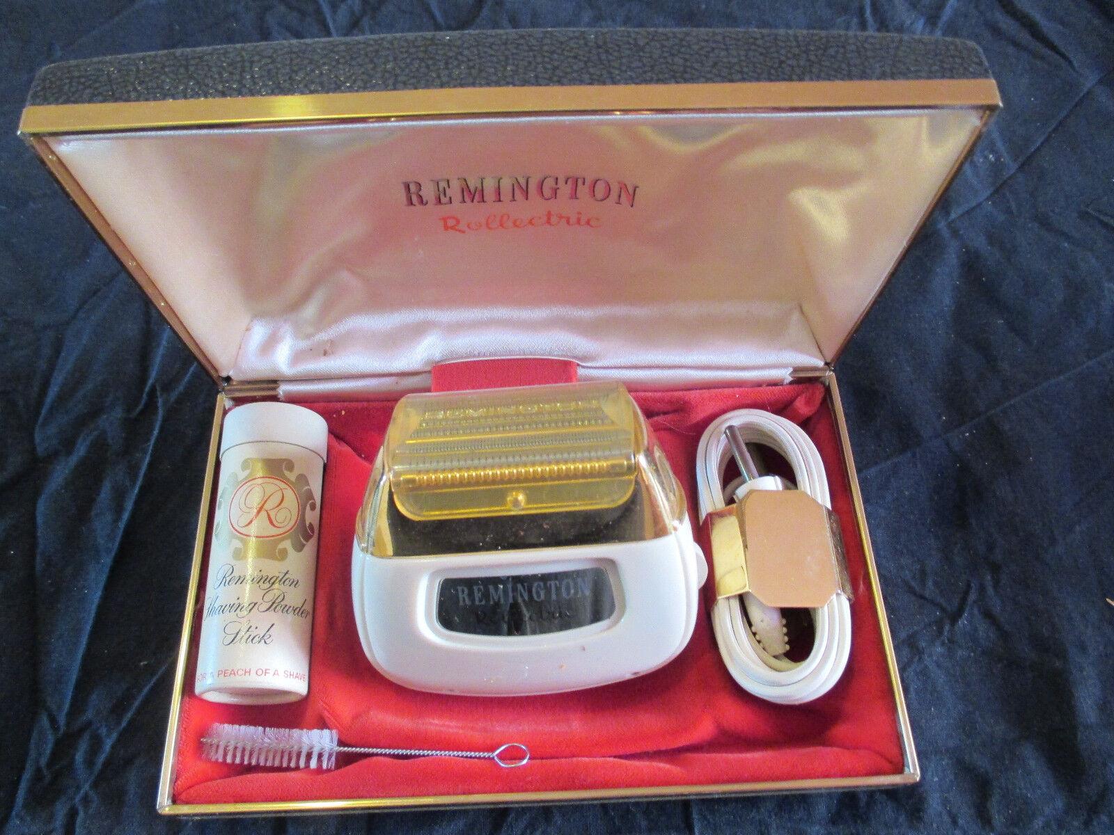Remington Rollelectric Elektrorasier - unbenutzt in OVP 50er , bester Zustand