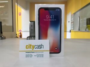 BRAND NEW iPhone X 256GB Space Grey Unlocked West Croydon Charles Sturt Area Preview