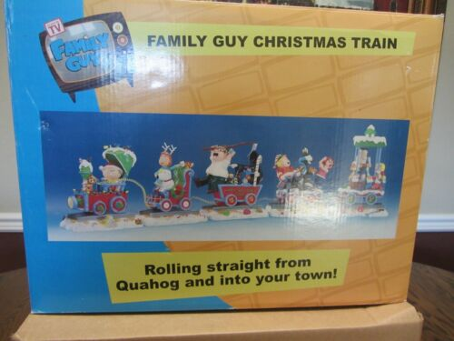 Family Guy Christmas Train  IN ORIGINAL BOX & PACKAGING With Certification