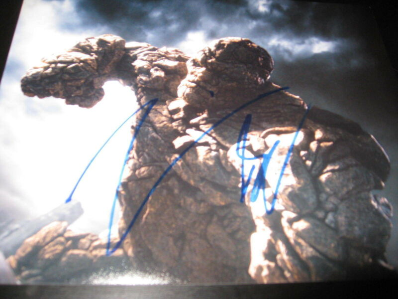 JAMIE BELL SIGNED AUTOGRAPH 8x10 PHOTO FANTASTIC FOUR THING PROMO COA AUTO X6
