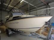 HAINES HUNTER 580 SL HALF CABIN Cedar Creek Gold Coast North Preview