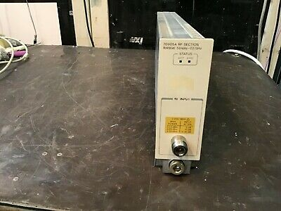 Hp Agilent 70905a Rf Section 50 Khz To 22 Ghz For 70k Spectrum Analyzers Tested