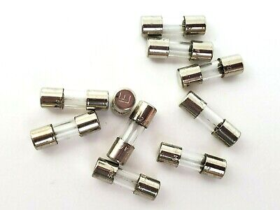 Lot Of 10 Littelfuse 2ag 1a 250 Volt 1 Amp 5 X 15 Mm Fast Acting Glass Fuses