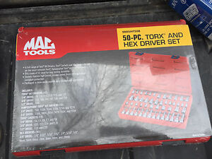 MAC Tools 50 piece Torx and Hex Set