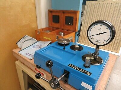 Super Barnet Series 9000 Pressure Measurements - Dead Weight Tester 16000psi