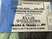 2x Ellie Goulding Tickets Brisbane Riverstage Pimpama Gold Coast North Preview