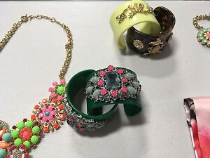 Beautiful jewellery  , scarfs and bags
