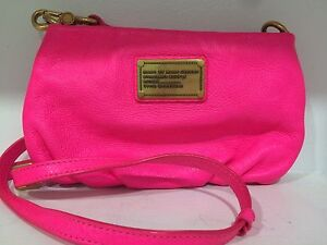 Marc By Marc Jacobs Authentic Hot Pink Crossbody